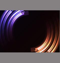 circle digital abstract sheet layer background vector image