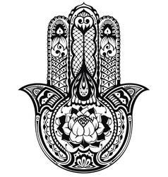 Hamsa symbol vector