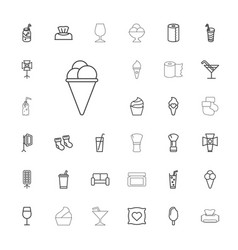 33 soft icons vector