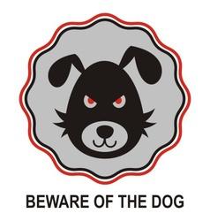 Beware dog vector