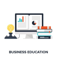 Business Education vector image