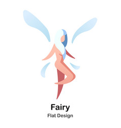 fairy flat icon vector image