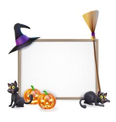 Halloween sign vector