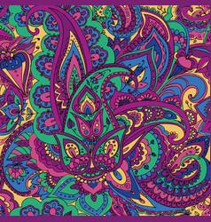 paisley hand drawing vector image