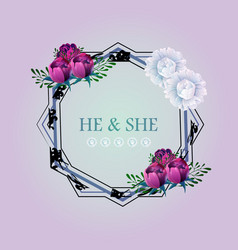 Watercolor wreath floral frame design hand drawn vector