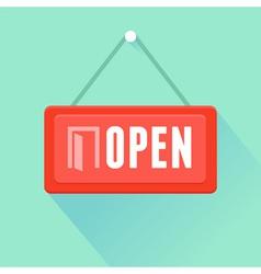 open label vector image vector image