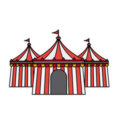 Circus or carnival icon image vector