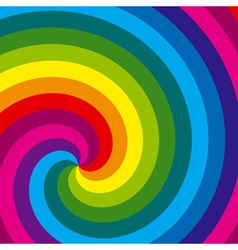 Colorful swirl background vector