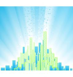 urban party background vector image