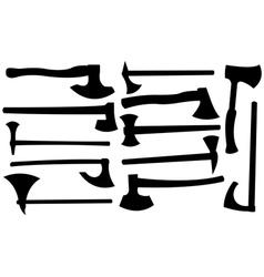 axes vector image