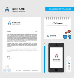 cheers business letterhead calendar 2019 and vector image