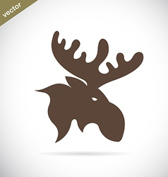 Deer Moose vector image