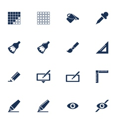 Graphic icons vector