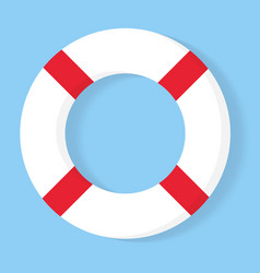 Lifebuoy icon equipment rescuers to save vector