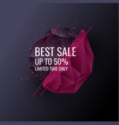 printoriginal sale poster for discount abstract vector image