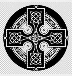 The celtic cross vector