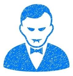Vampire Grainy Texture Icon vector