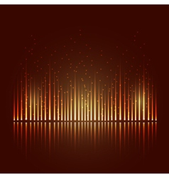 Abstract equalizer vector image vector image