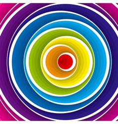 colorful circles background vector image