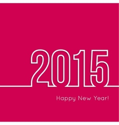 Creative happy new year vector