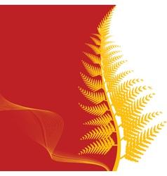 fern background vector image vector image