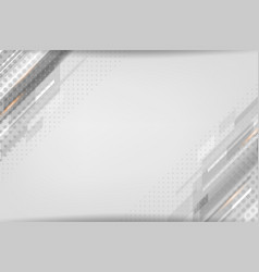 Grey dotted background vector