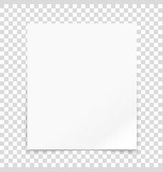Paper frame isolated on transparent background il vector