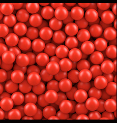 Red balls background vector