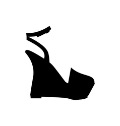 shoe icon image vector image