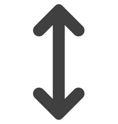 Swap arrows vertically flat icon symbol vector
