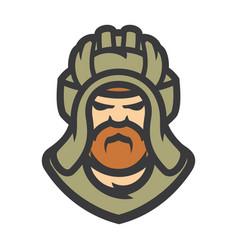Tankman military cartoon vector