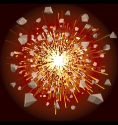 explode vector image