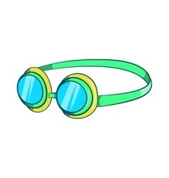 Goggles icon cartoon style vector image vector image