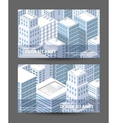 1674city vector image
