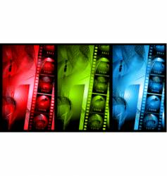 Abstract film vector