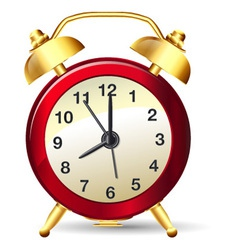 Alarm clock vector