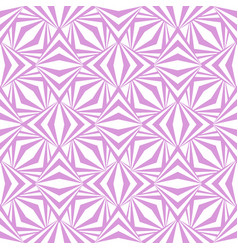 art abstract geometric light white pink pattern vector image