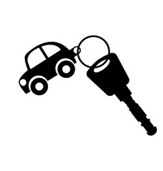 Car-keys vector