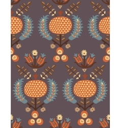 Ottoman turkish pattern vector