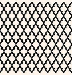 seamless pattern with rhombuses diagonal lattice vector image