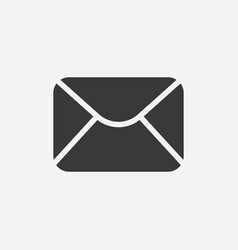 mail icon sign vector image