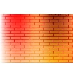 Color brickwall texture vector