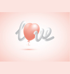 decorative element for valentines day vector image