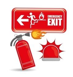 Emergency Icon vector image