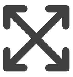 Enlarge arrows flat icon symbol vector