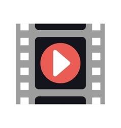 Film strip cinema movie icon graphic vector