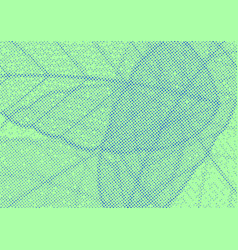 green background with overlay halftone dotted vector image