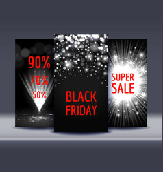 set sale banners vector image