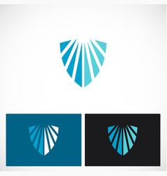 Shield protect guard logo vector