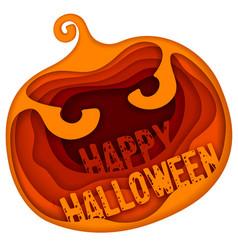 halloween greeting vector image vector image